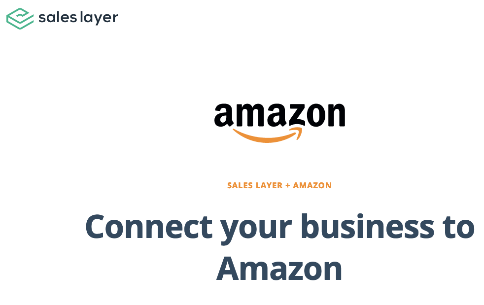 amazon sales layer connector